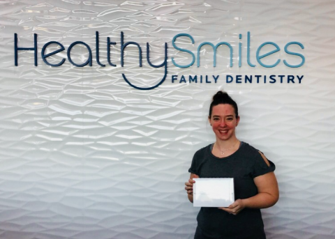 win ipad surrey dentist